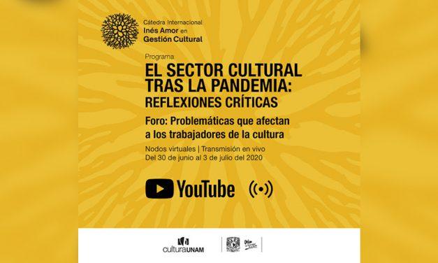 Analiza UNAM el estado la cultura después de la pandemia