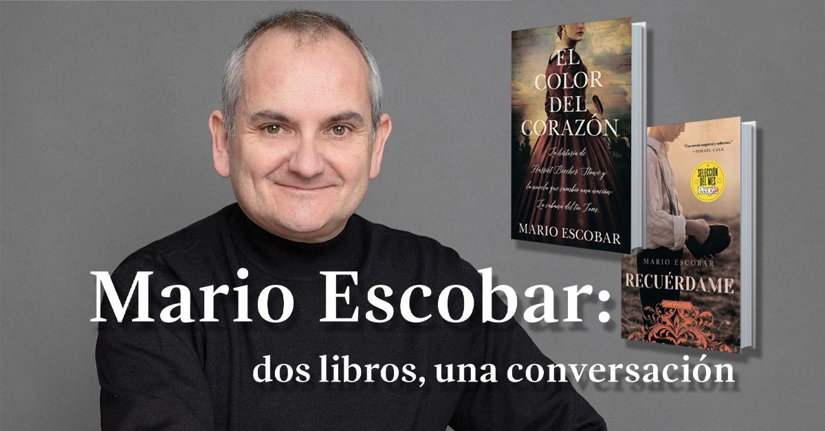 Mario Escobar: dos libros, una conversación
