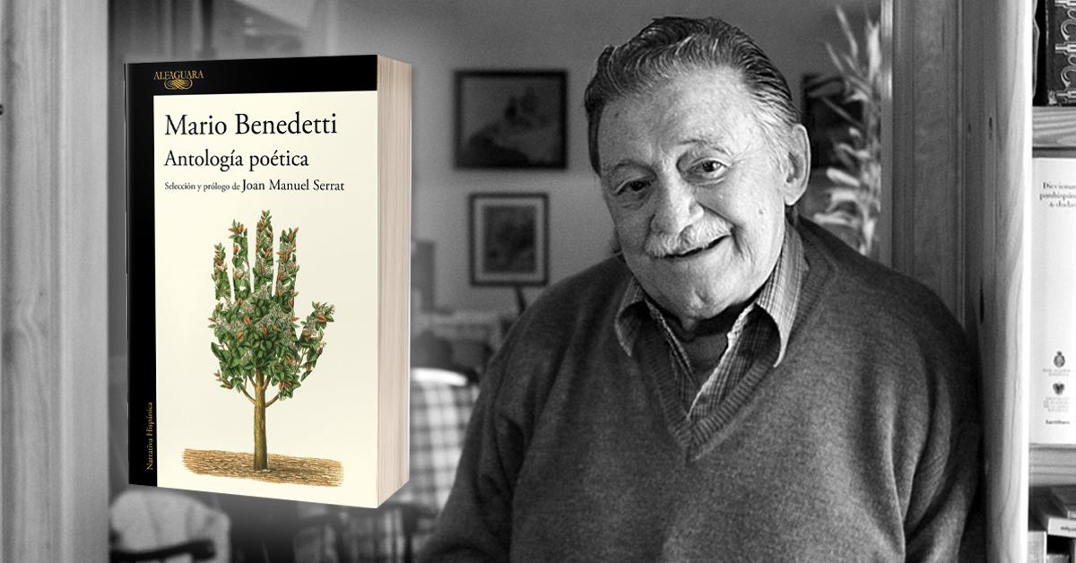 Serrat y Benedetti en un mismo libro