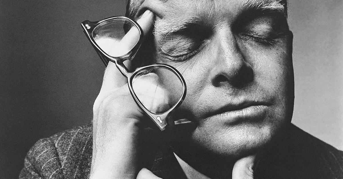 La firma de Truman Capote
