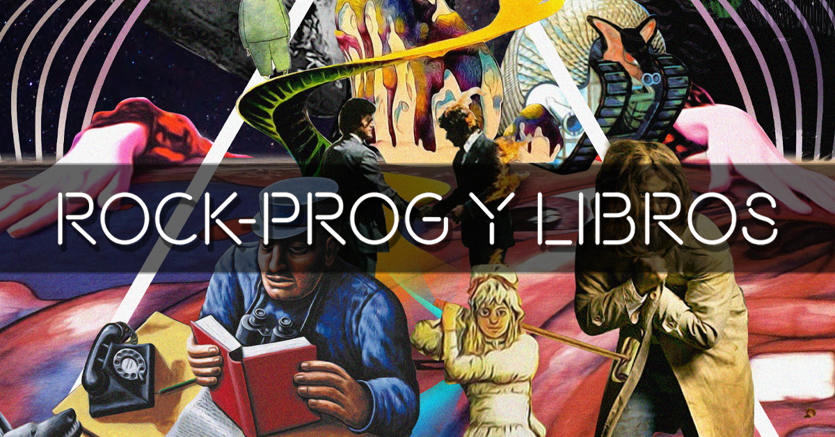 Prog-Rock y Libros (Carta editorial Revista Lee+ 136)