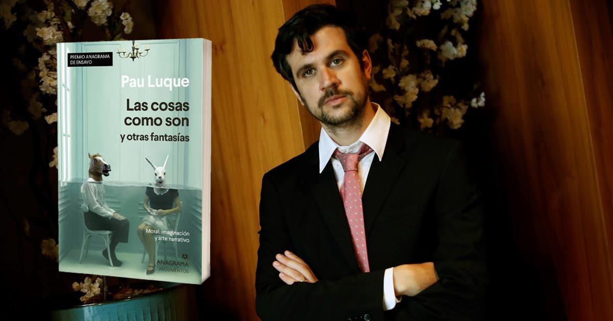 Pau Luque, nuevo Premio Anagrama de ensayo