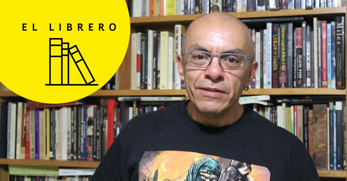El librero de David Cortés
