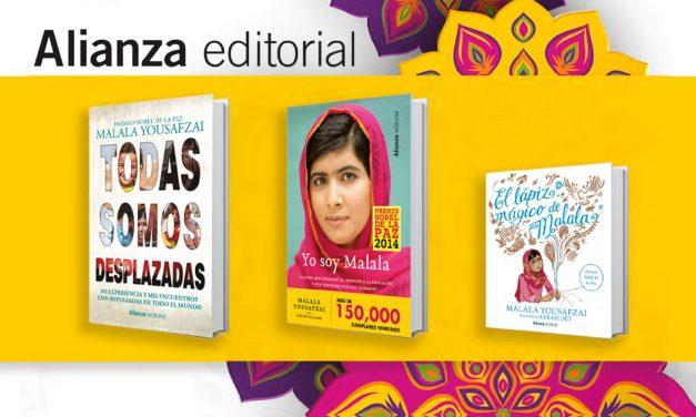 Los libros de Malala