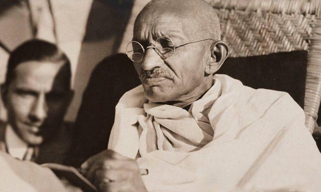 La no violencia de Mahatma Gandhi