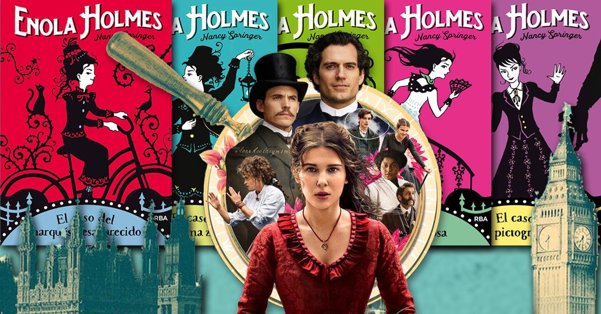 Enola Holmes, la nueva detective sensación