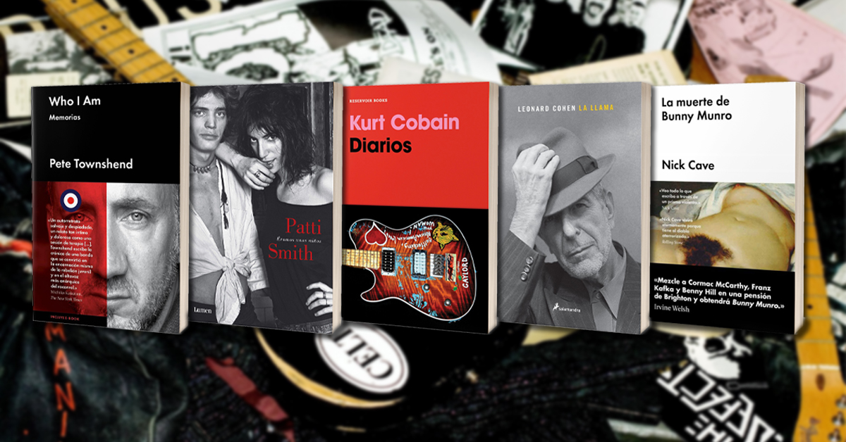 5 libros musicales