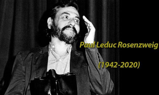 Paul Leduc, In Memoriam