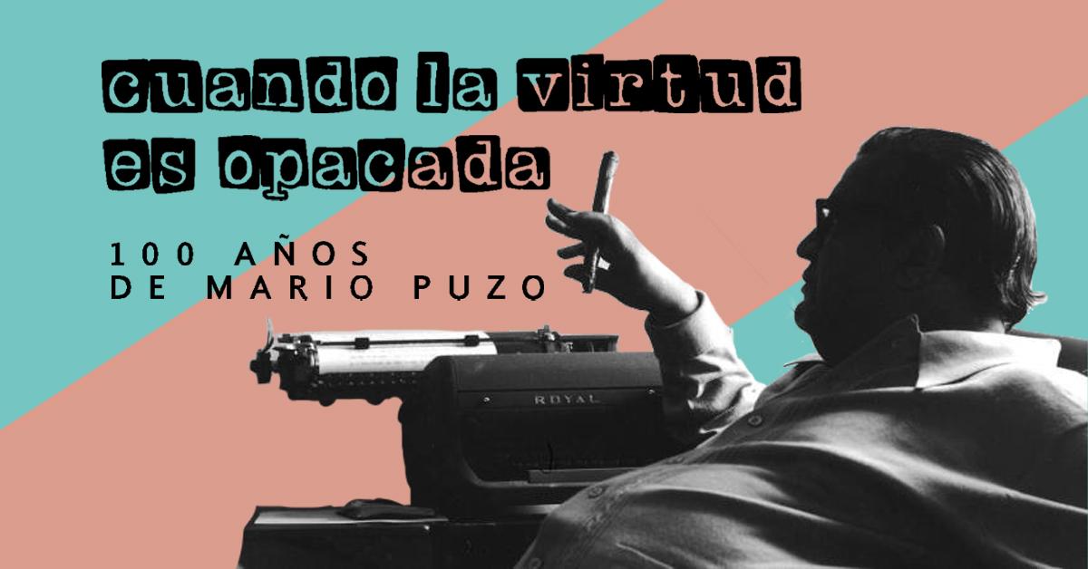 """Cien años de Mario Puzo, autor de """"El Padrino"""""""