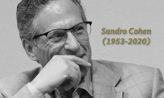 Fallece Sandro Cohen, editor, escritor y académico