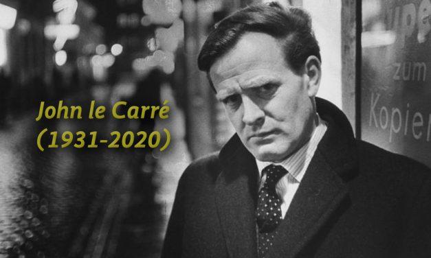 El escritor que vino del frío. Adiós a John le Carré