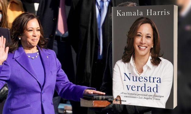 """""""Estoy hablando"""" Kamala Harris"""