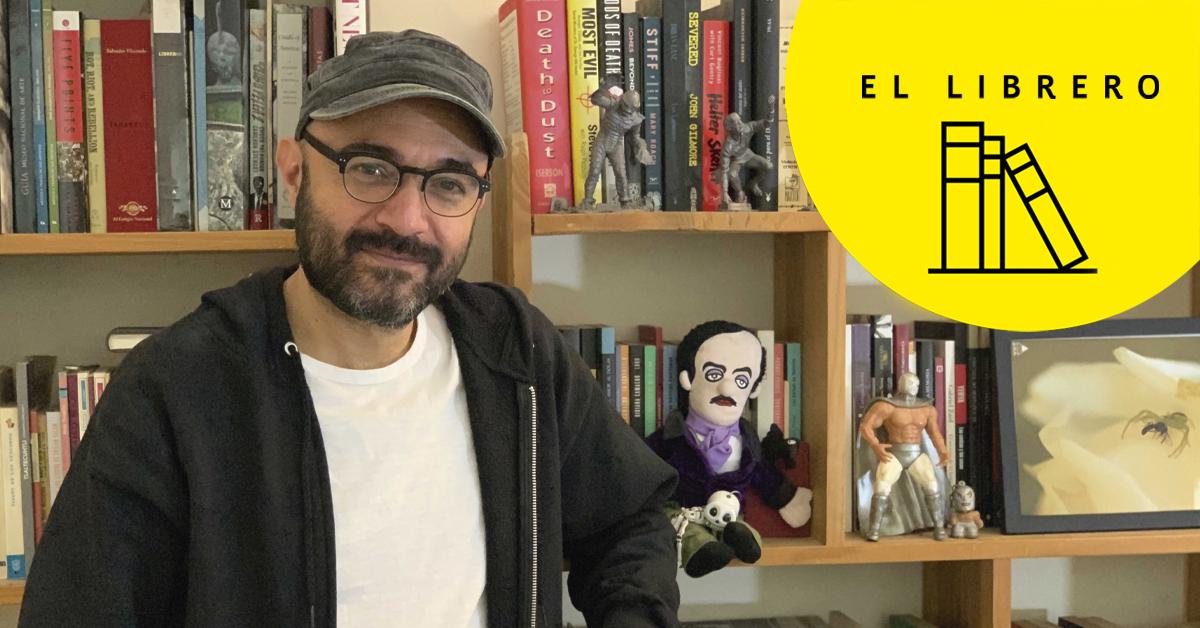 El librero de Bernardo Esquinca