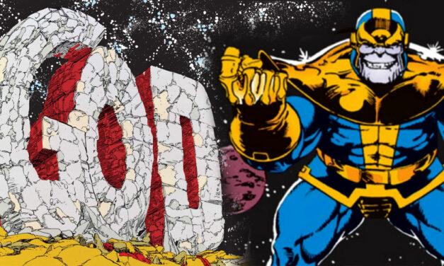 El guantelete del infinito: el poder absoluto en manos de un Titán loco