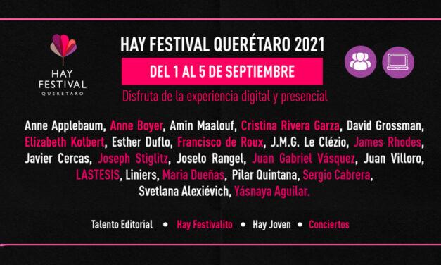 Sexta edición Hay Festival 2021