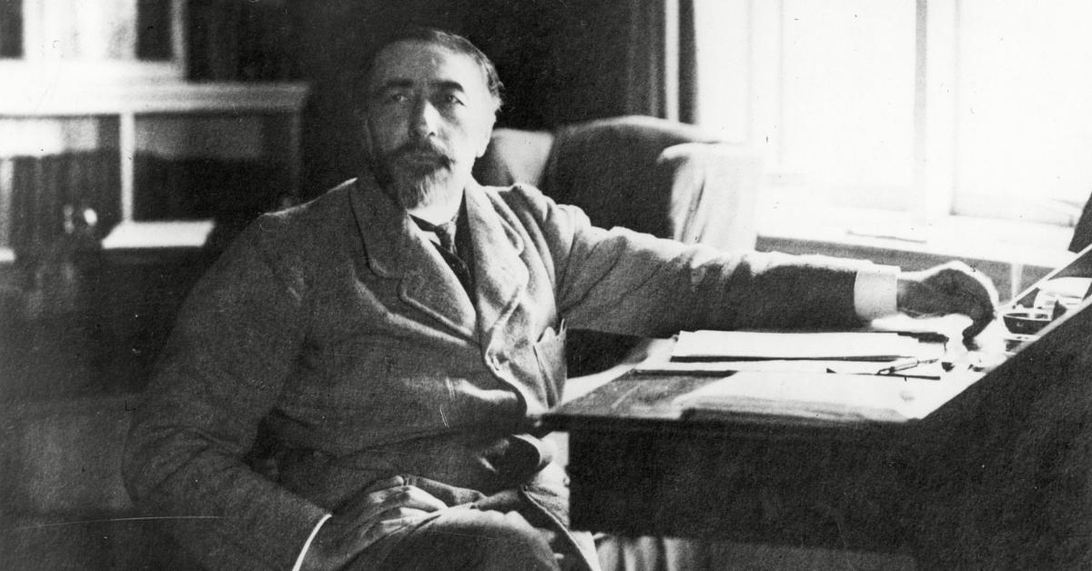 Joseph Conrad, y su literatura inglesa