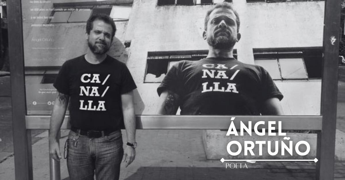 Ángel Ortuño, el poeta irreverente y divertido