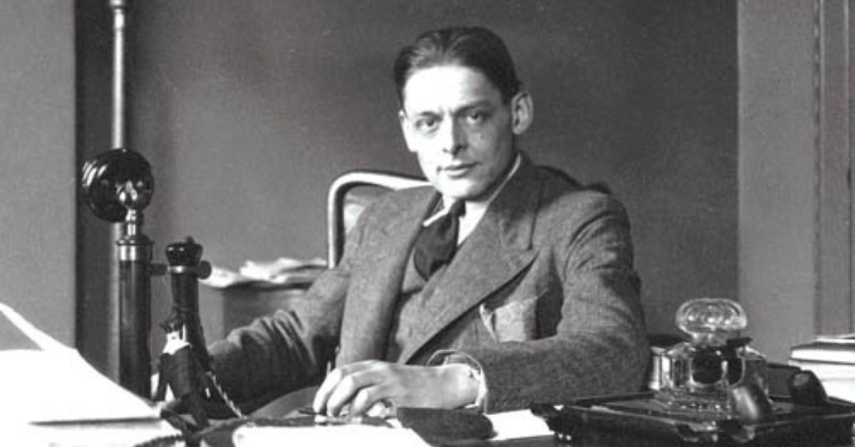T.S. Eliot, un rebelde de la poesía